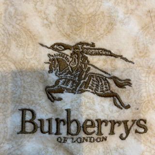 Burberryのシーツ(起毛)