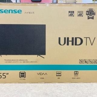 【値下げ】ハイセンス 4K TV 55形