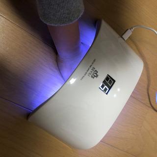 ジェルネイルドライヤー UVとLEDダブルライト