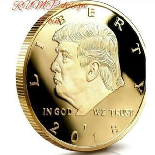 <新品 未開封> ドナルド トランプ デザイン コイン