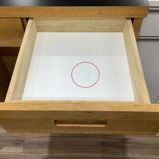 黒のテーブル板がシック!!UNICOのオープンカウンター!!【トレファク愛知蟹江店】 - 売ります・あげます