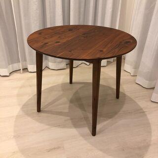 【ネット決済】大塚家具 ダイニングテーブル「シネマ3」90cm ...