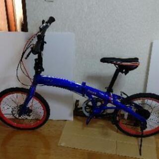 折りたたみ自転車マセラティ