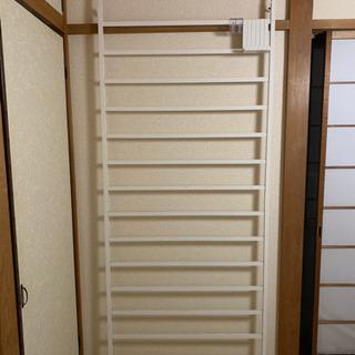 突っ張りラック 壁掛け 白 インテリア - 大田区