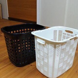 【お譲り先決定】ランドリーバスケット 2種