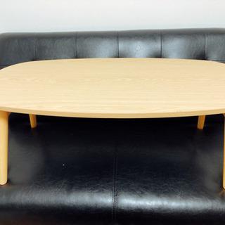 ニトリ 3,990円 降りたたみテーブル だ円 - 売ります・あげます