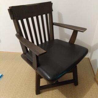 椅子 ハンドメイド 回転チェア