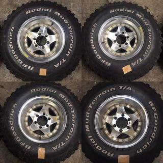 スパイクタイヤ 31×10.5R15 4本 タイヤのみ!