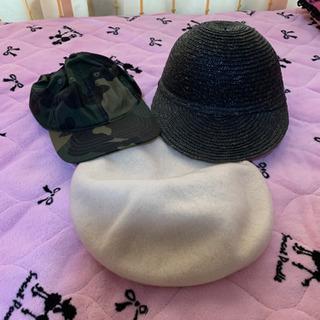 夏用キャップ2   冬用ベレー帽