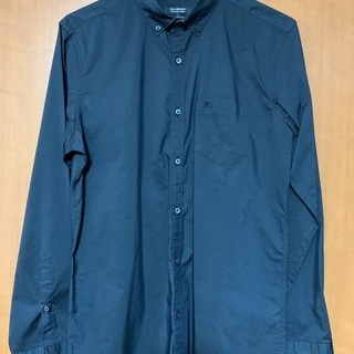 【美品】BURBERRY BLACK LABEL Yシャツ ブラ...