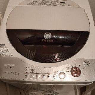 【無料】シャープ 5.5kg送風乾燥機能付き縦型全自動洗濯機「A...