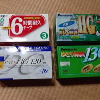 ☆未使用☆VHSビデオテープ16本セット
