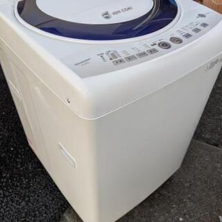 4.5k〜7k全自動洗濯機(名古屋市近郊配達設置無料)