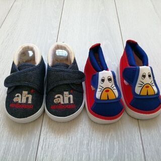 靴12センチ 12.5センチ 二足新品