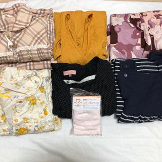 マタニティL 7点まとめ売り 授乳服 パジャマ ワンピース等