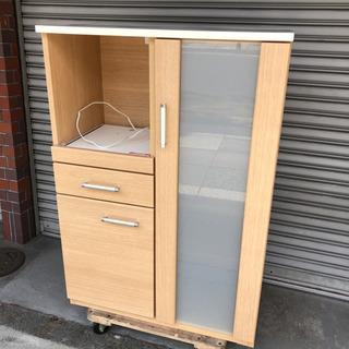 #4347 ニトリ 食器棚 キッチンボード ホワイト