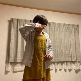【ネット決済・配送可】【値引!新品】男女兼用 麻100% Yシャ...
