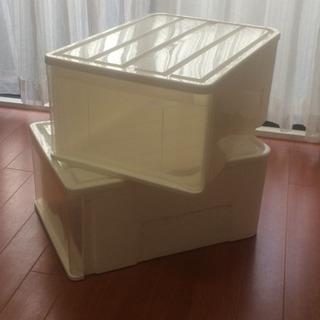 【あげます!】ニトリのクローゼット用衣類収納ケース(高さ25cm)