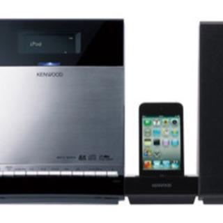 kenwood c-414 コンポ iPhone iPod 繋げられる