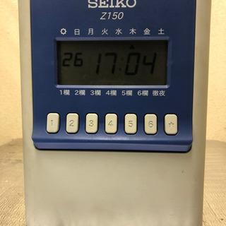 セイコーZ150 タイムカードの画像