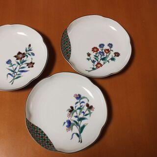 九谷焼 美山窯 中皿5枚セット