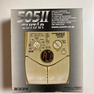 ZOOM 505II ズーム マルチエフェクター