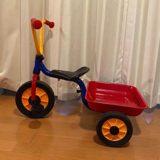 ウィンザー社 三輪車 荷台つき ボーネルンド