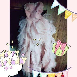 フィッシュテールドレス Lサイズ ピンク