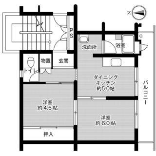 ◆敷金・礼金が無料!◆ビレッジハウス近見4号棟 (303号室)