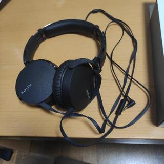 ソニー EXTRA BASS 有線ヘッドホン MDR-XB550AP