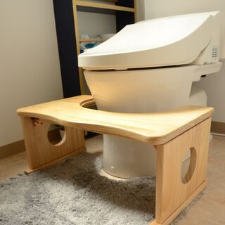 ■トイレ踏み台 トイレトレーニング キッズ用品(ナチュラル)■b...