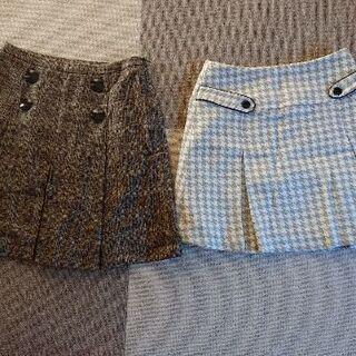 レディース スカート 2枚