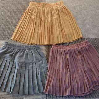 レディース プリーツスカート 3枚