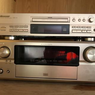 CD プレイヤー AVアンプ セット売り
