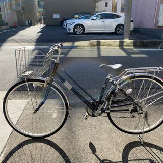 27 パンクしにくい自転車 変速ギア付 点検整備済み
