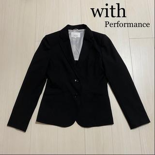 with Performance 黒ジャケット 9号