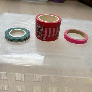 マスキングテープ 3種類