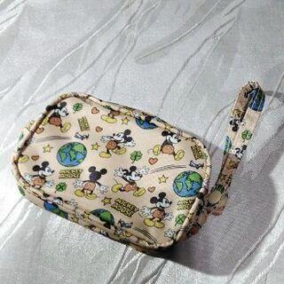 ★値下げ★☆新品☆ ベージュ×ミッキーマウス・ポーチ(BEAMS