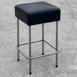 格安で!IKEA JULIUS バースツール◇スクエア ブラック...