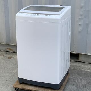 格安で!アクア 洗濯機◇8kg◇2019年製◇ガラストップ◇槽洗...