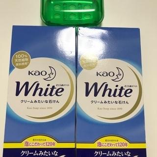 花王石鹸ホワイト 6個入り2箱