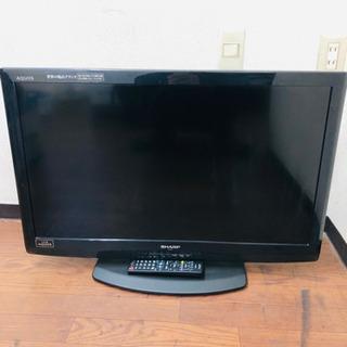 2011年製 シャープ32インチ液晶テレビ
