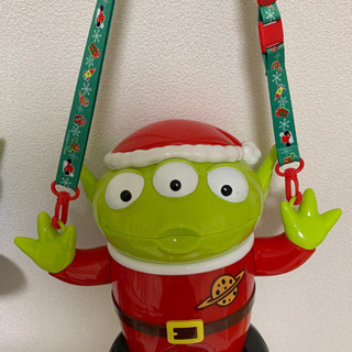 値下げ!リトルグリーメン☆クリスマス ディズニーポップコー…