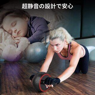 【新品・未使用】腹筋ローラー他 トレーニング4点セット − 東京都
