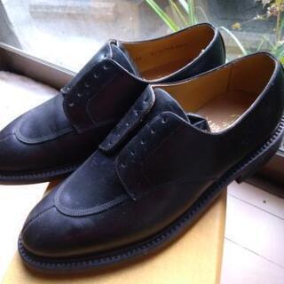 (新品未使用)リーガルビジネスシューズ黒24.5cm