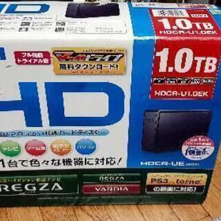 商談中引き取り早い者勝ち 外付けHDD 1TB(1000GB)の画像