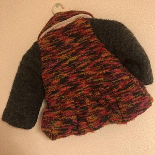 新品 nicoris ancien 95 定価8,000円 冬物 ジャケット コート 中わた ボア 高級アウター - 売ります・あげます
