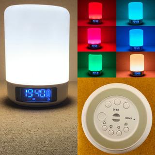 決まりました!多機能 ライトの 目覚まし スピーカー コードレス Bluetooth speaker LED lightの画像