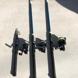 海釣り3本セット
