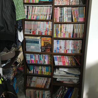 本棚(高さ180cm,ブラウン)